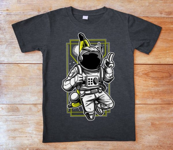 Funny Astronaut Shirt Vintage Tshirt Vintage Outer Space image 0