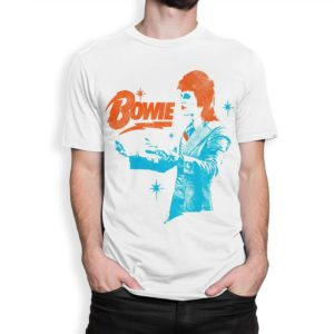 David Bowie Vintage Graphic T-Shirt Men's Women's White