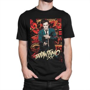 Quentin Tarantino Original Art T-Shirt Men's Women's image 0