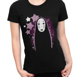Spirited Away No-Face T-Shirt Studio Ghibli Movie Tee image 0