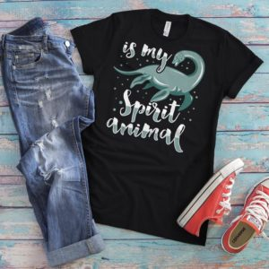 Lochness Monster Is My Spirit Animal Shirt Vintage Tshirt image 0