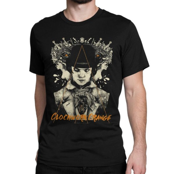 A Clockwork Orange Vintage T-Shirt Men's Women's Black