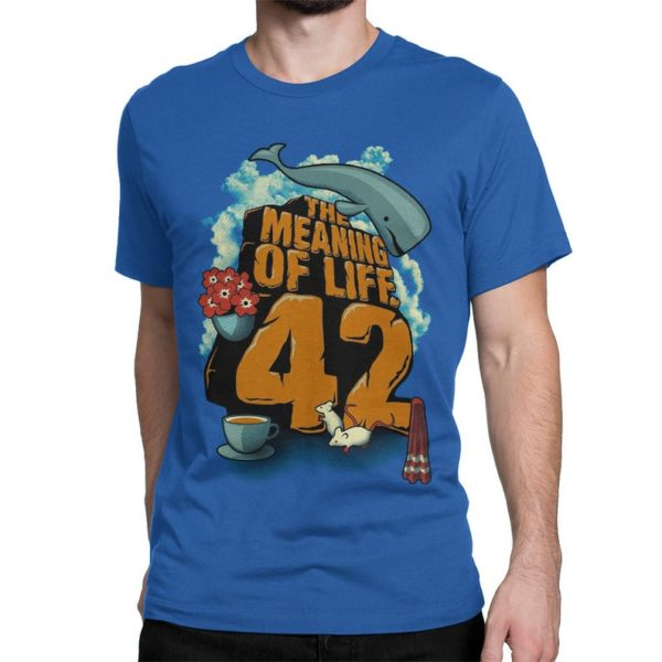 Hitchhiker's Guide To The Galaxy T-Shirt The Meaning Of image 0