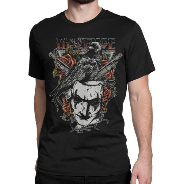 The Crow Movie Art T-Shirt Men's Women's Premium image 0