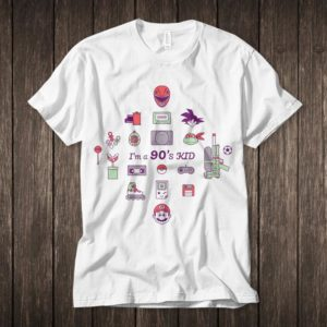 I am a 90's Kid Cool Graphic T-Shirt image 0