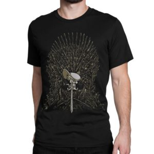 Pinky And The Brain x Game Of Thrones Funny T-Shirt Men's image 0