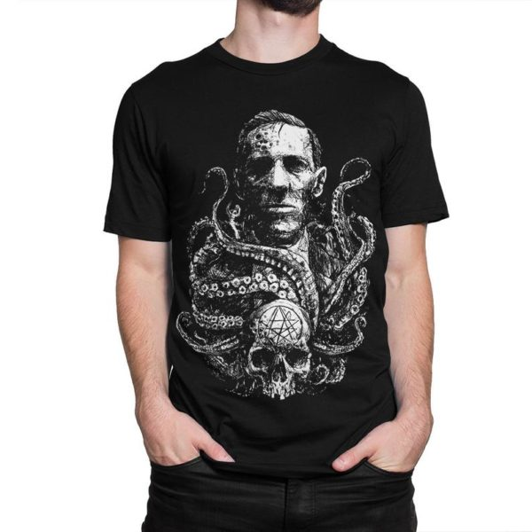 H. P. Lovecraft Dark Art T-Shirt Men's Women's All image 0