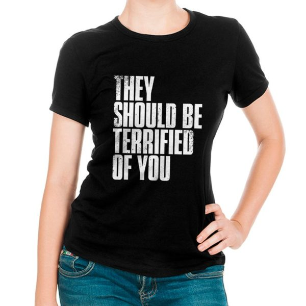 The Last of Us Graphic T-Shirt They Should Be Terrified Of image 0