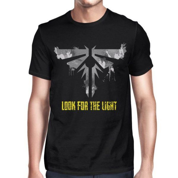 The Last of Us Look for the Light T-Shirt Men's image 0