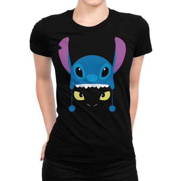 Toothless In Stitch Costume Funny T-Shirt How to Train Your image 0