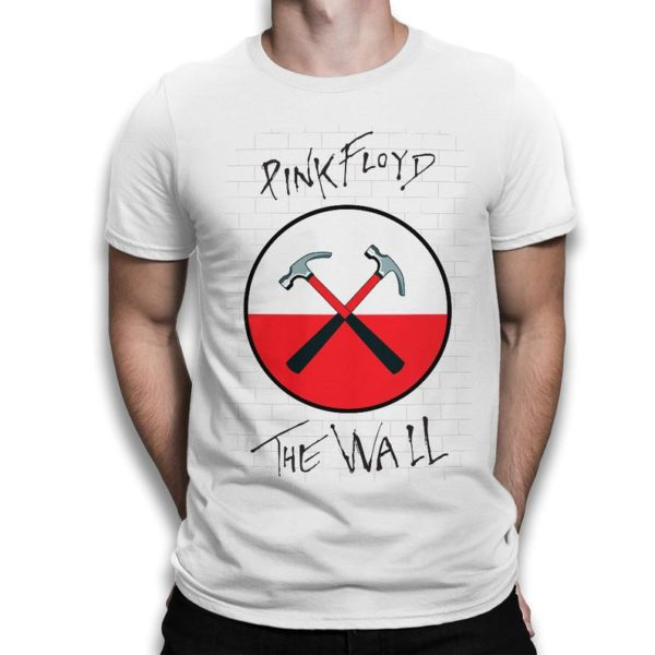 Pink Floyd The Wall Old School T-Shirt Men's Women's White