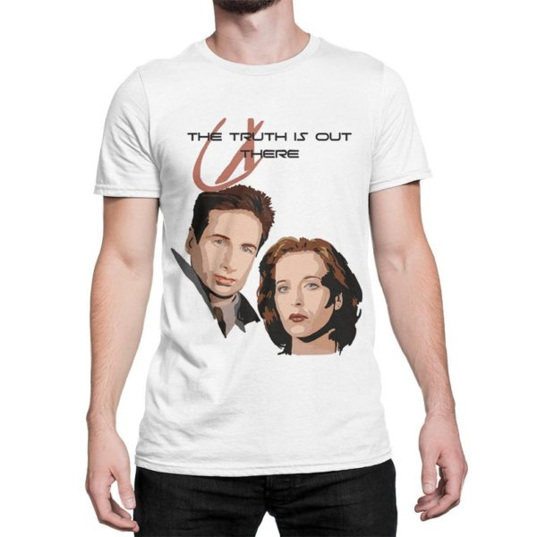 The X-Files The Truth Is Out There T-Shirt Cotton Tee image 0