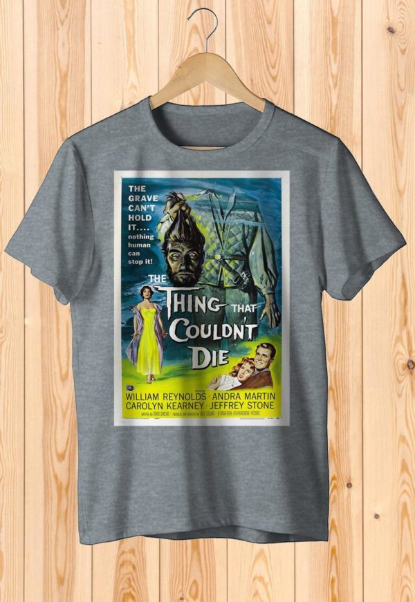 The Thing That Couldn't Die Retro Movie Poster Art Shirt image 0
