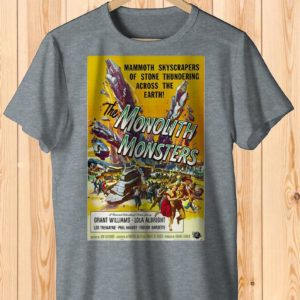 The Monolith Monsters Retro Movie Poster Art Shirt  Cult image 0