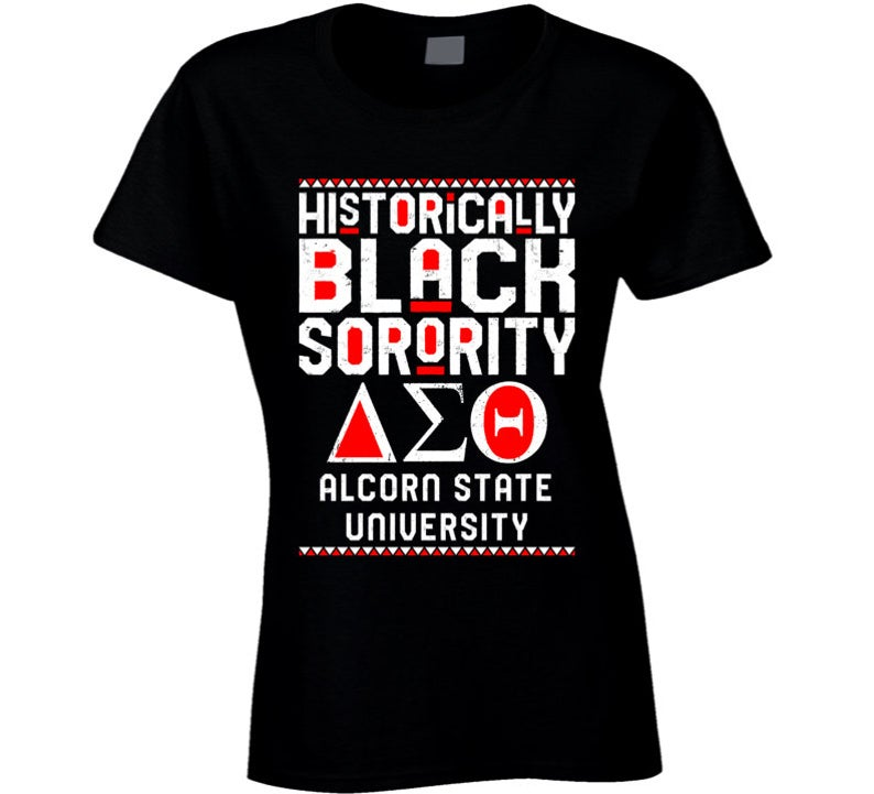 Alcorn State University Delta Sigma Theta HBCU Black Greek image 0