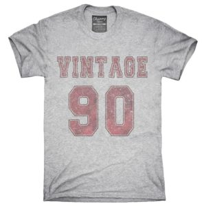 1990 Vintage Jersey T-Shirt Hoodie Tank Top Gifts image 0