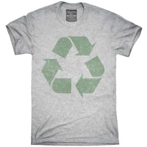 Recycling Symbol T-Shirt Hoodie Tank Top Gifts image 0