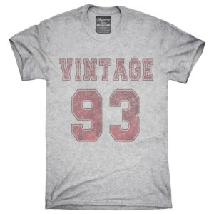 1993 Vintage Jersey T-Shirt Hoodie Tank Top Gifts image 0