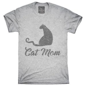 Cat Mom T-Shirt Hoodie Tank Top Gifts image 0