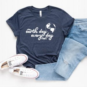 Earth Day Every Day Shirt  Environmental Shirt  Earth Day image 0