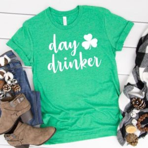 Day Drinker Shirt Day drinking shirt St patricks day shirt image 0