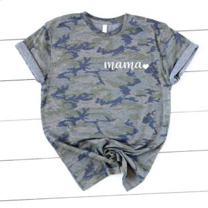 Mama Camo Shirt  Mom Camo Tee  Shirt for Mom  Mom Clothing image 0