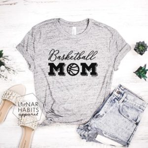 Basketball Mom Basketball Shirts Basketball Shirt Game Day image 0