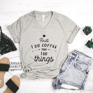 But First Coffee Gift For Coffee Lover Shirt But First image 0