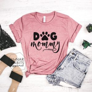 Dog Mom Dog Shirt Dog Shirts Dog Mama Fur Mama Shirt Dog image 0