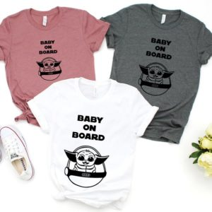 Baby Shower Party Favors Cute Maternity T Shirts Funny image 0