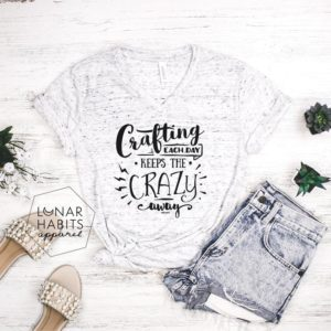 Crafting Shirt Gift For Crafter Pottery Shirt Knitting image 0