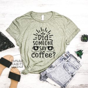 Coffee Shirt Gift For Coffee Lover Gift Shirt For Coffee image 0