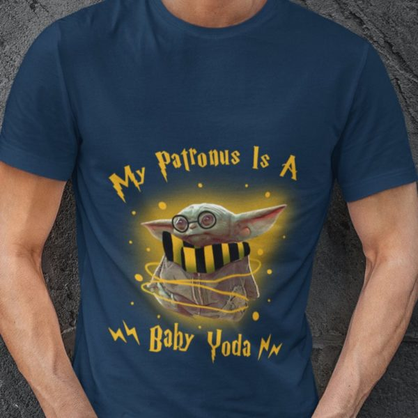 Baby Yoda Harry Potter T-shirt My Patronus Is A Baby Yoda Harry Potter T Shirt Gift for her Gift for valentines day