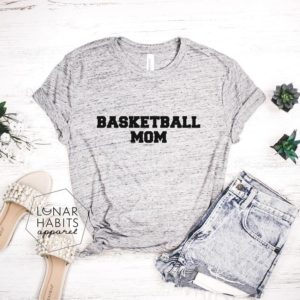 Basketball Mom Shirt Basketball Shirts Basketball Shirt image 0