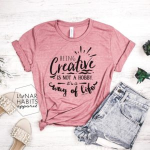 Be Creative Art Teacher Shirt Inspire Shirt Kindness Shirt image 0