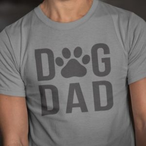 Dad Gift Dog Dad T Shirt Father Daughter Husband Dad Tee Dad image 0