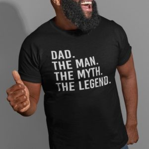 Dad Gift Dad The Man The Myth The Legend T Shirt Father image 0