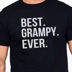 Dad Gift Best Grampy Ever T Shirt Father Daughter Husband Dad image 0