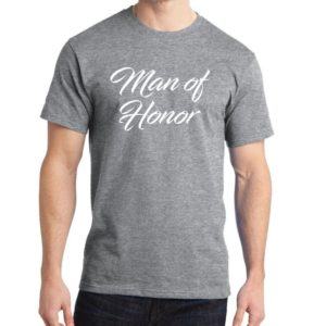 Dad Gift Man Of Honor T Shirt Father Daughter Husband Dad image 0
