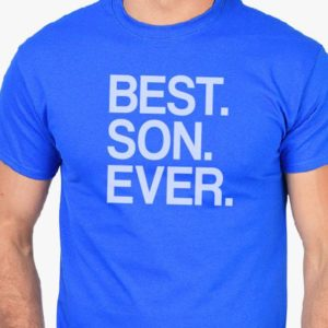 Dad Gift Best Son Ever T Shirt Father Daughter Husband Dad image 0