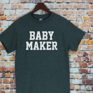 Dad Gift Baby Maker T Shirt Father Daughter Husband Dad Tee image 0