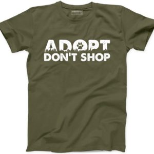 Adopt Dont Shop T Shirt Pet Animal Rescue Love Furry Mom image 0