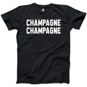 Champagne Champagne Tshirt 100% Cotton New Mens Funny Friends image 0