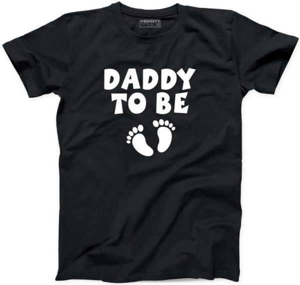 Daddy to Be Tee Fathers Day Gift Dad Papa Great Father New Daddy Tshirt