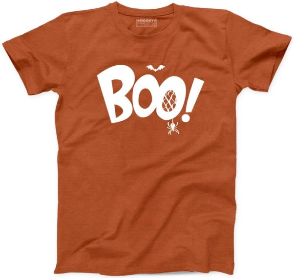 Boo T Shirt Halloween Funny Ghost Spider Bat Party Trick or Treat New T-Shirt