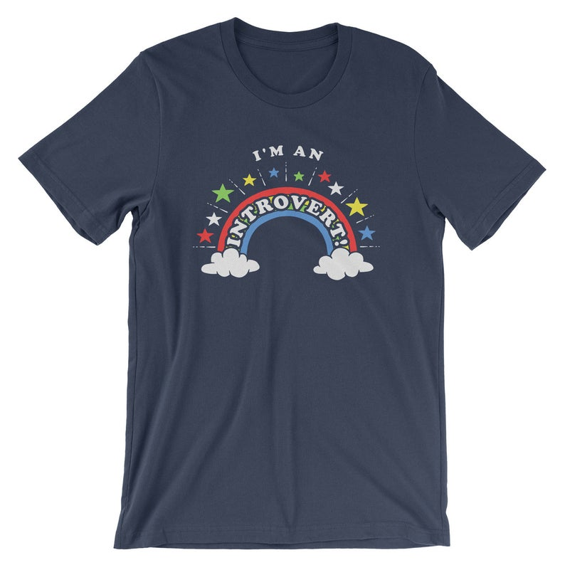 I'm An Introvert T-Shirt  Funny Introvert Ironic image 0
