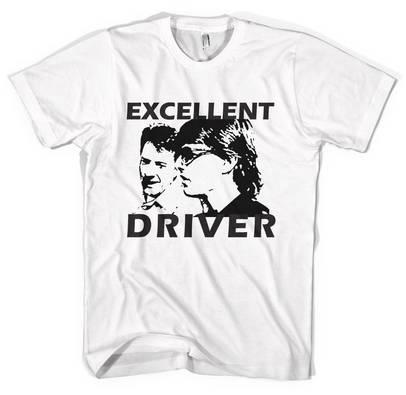 Excellent Driver' Tee. Cars driving rain man Dustin image 0