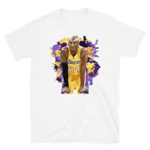 T-shirt Mamba Lakers 24 Kobe Bryan mentality USA NBA fan image 0