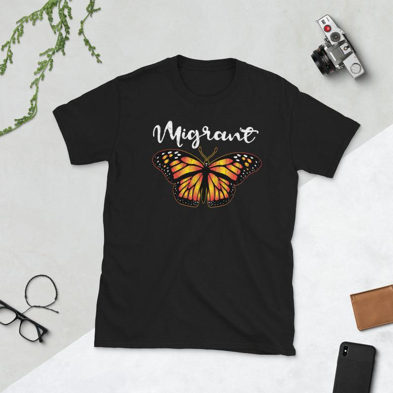 Migrant Monarch T Shirt  Monarch Butterfly Lovers  image 0