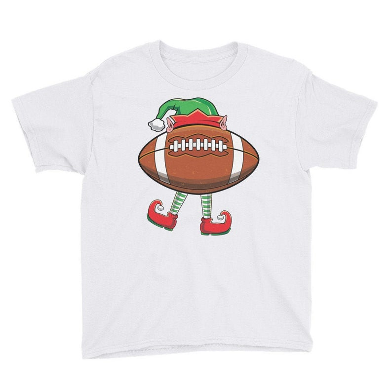 Kid's Funny Sports Ball Elf T-Shirt Elf Winter image 0